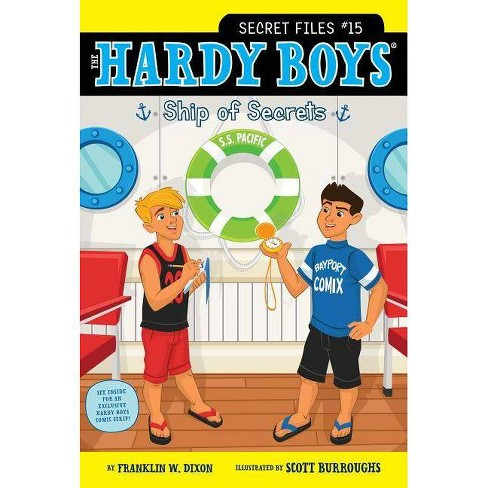 Ship of Secrets - (Hardy Boys: Secret Files) by  Franklin W Dixon (Paperback) - image 1 of 1
