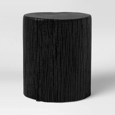 Wade Stump End Table Black - Threshold™