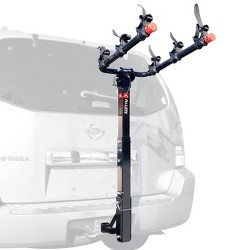 Allen Sports Deluxe Powder Coated 3 Bike Carrier Mount Rack for 2 Inch Hitch