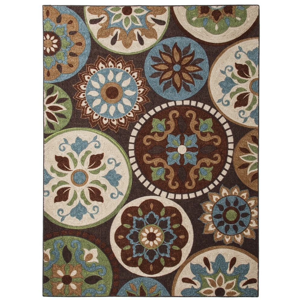 Image of 5'x7' Shapes Area Rug - Maples, Multi-Colored