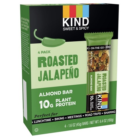 Kind® Roasted Jalapeno Protein Nutrition Bar - 6.4oz - 4ct - image 1 of 1
