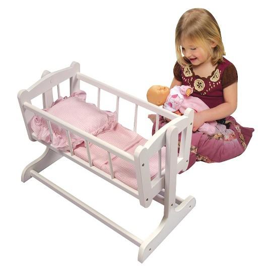 Badger Basket Heirloom Style Doll Cradle image number null