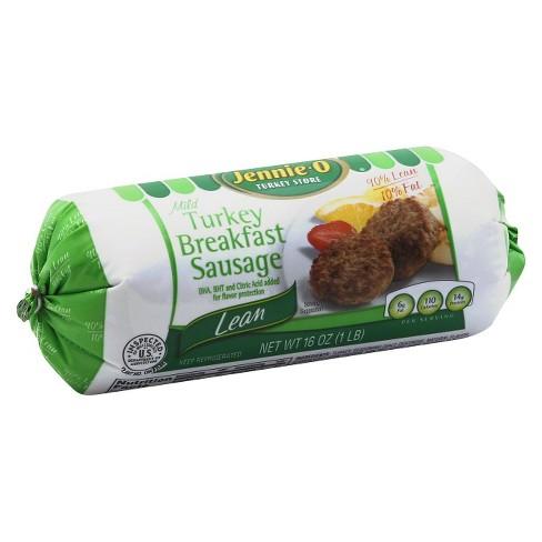 Jennie O Mild Turkey Breakfast Sausage 16oz Target