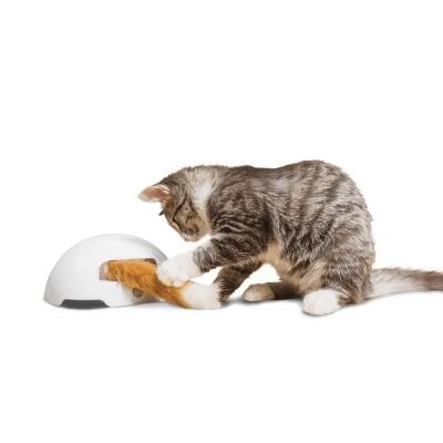 Premier Pet Fox Den Automatic Cat Toy - White