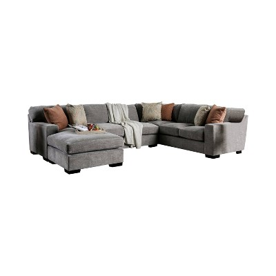 Anderton Track Arm Sectional Gray - miBasics