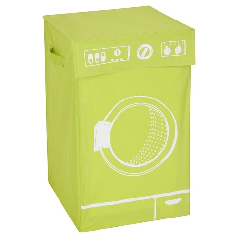 Honey-Can-Do Washing Machine Hamper - Green - image 1 of 1