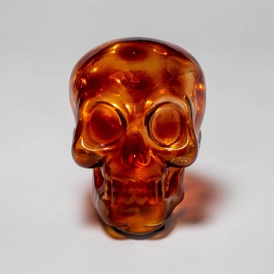 Large Light-Up Tortoise Shell Decorative Halloween Skull - Hyde & EEK! Boutique™