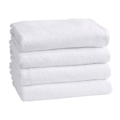 Great Bay Home 100% Cotton Ultra-Absorbent Textured Bath Towels