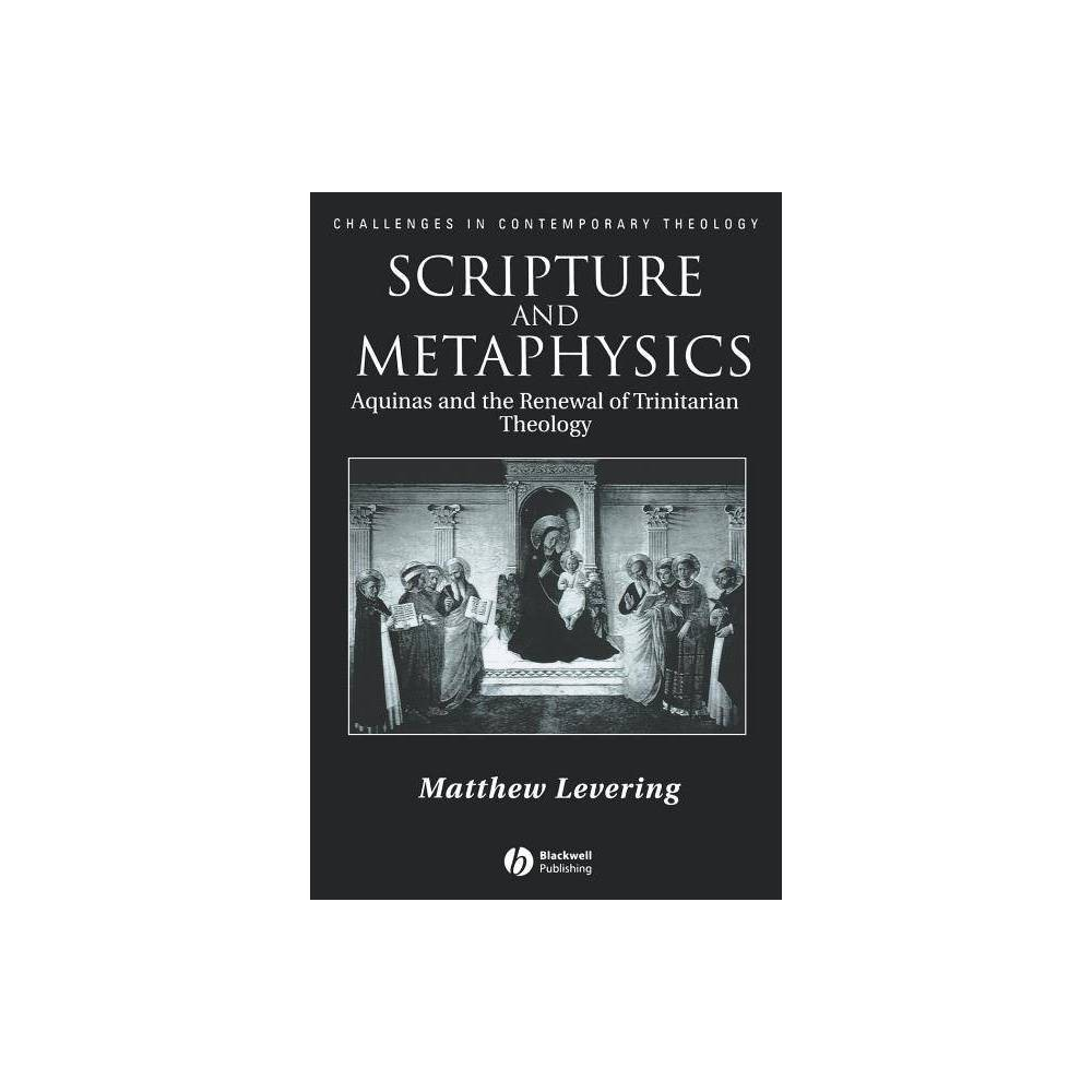 Scripture And Metaphysics Challenges In Contemporary Theology By Matthew Levering Paperback