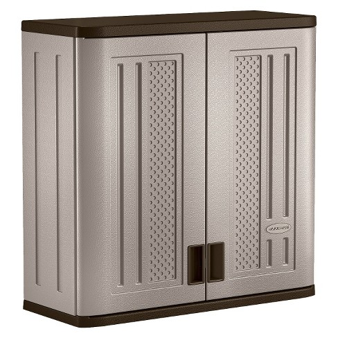 Suncast Wall Mounted Utility Storage Cabinet - image 1 of 4