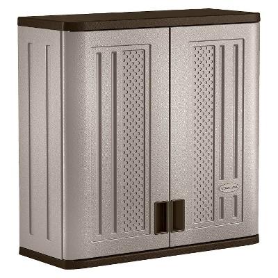 Suncast Wall Mounted Utility Storage Cabinet