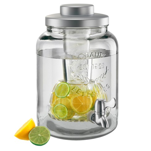 Masonware Beverage Jar with Chiller & Infuser, 2gal - image 1 of 2