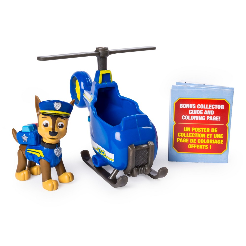 Paw Patrol Ultimate Rescue Chase Mini Helicopter