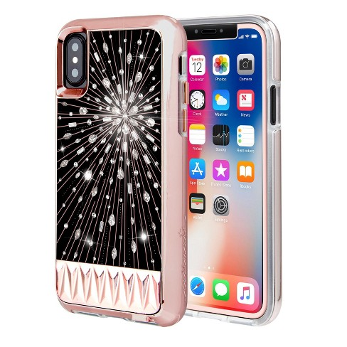 best loved 387f7 84a44 Case-Mate IPhone Xs / X Luminescent Case And Screen Protector Bundle ...