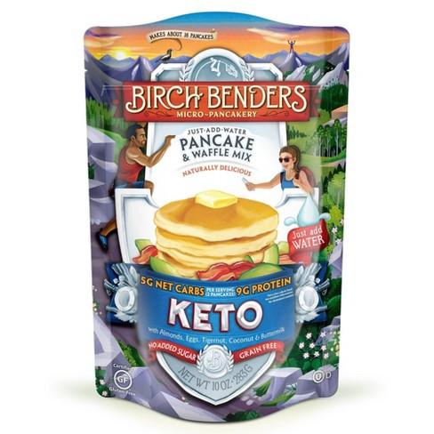 Birch Benders Gluten Free Keto Pancake & Waffle Mix - 10oz - image 1 of 4