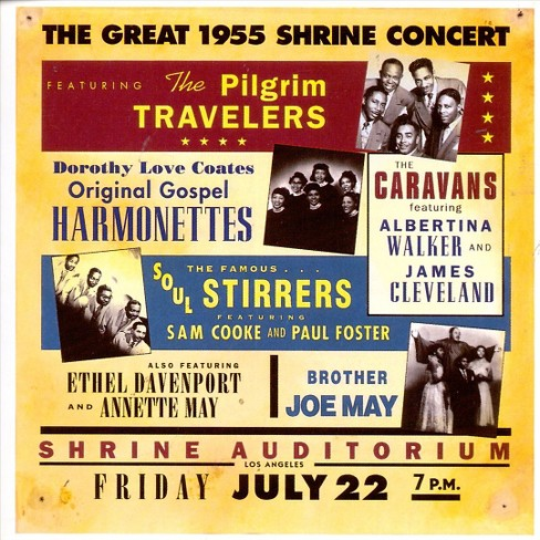 Various - Great 1955 shrine concert (CD) - image 1 of 1
