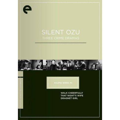 Eclipse Series 42: Silent Ozu - Three Crime Dramas (DVD) - image 1 of 1