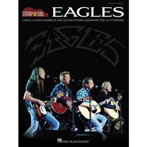 Eagles Lyrics Chord Symbols And Guitar Chord Diagrams For 19 Hit