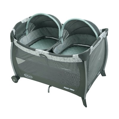 Graco Pack 'n Play Twins Bassinet Playard - Oskar