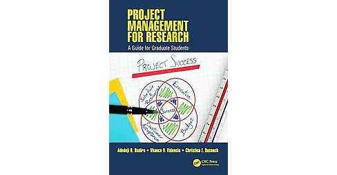 Project Management for Research : A Guide for Graduate Students (Hardcover) (Adedeji B. Badiru & - image 1 of 1