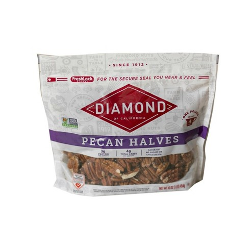 Diamond of California Pecan Halves - 16oz - image 1 of 4