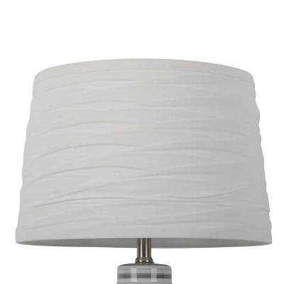 Linen Overlay Modified Drum Large Lamp Shade Ivory - Threshold™