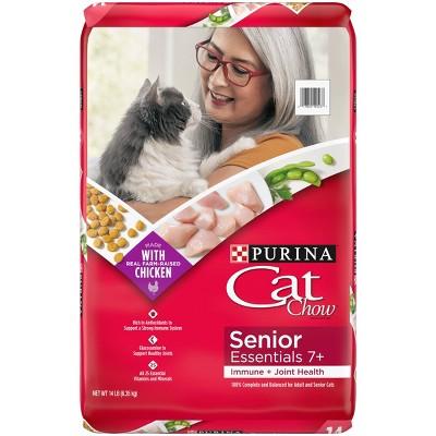 Cat Chow Senior Dry Cat Food - 13lbs