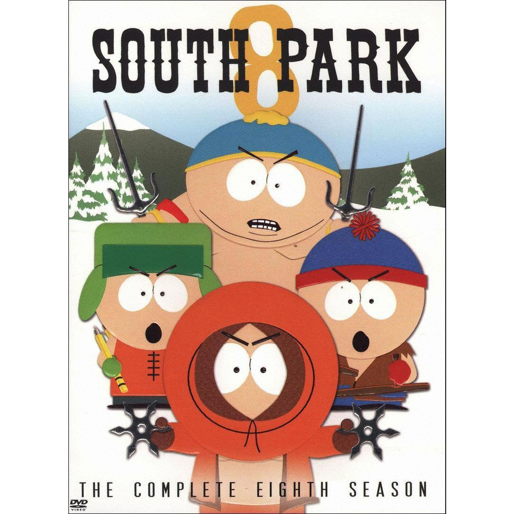 South Park: The Complete Eighth Season (3 Discs) (DVD) Best