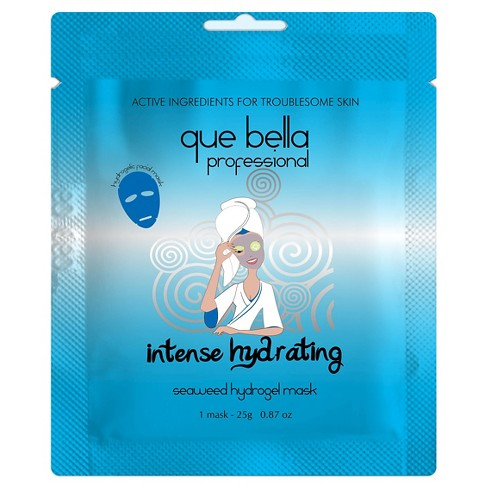 Que Bella® Intense Hydrating Hydrogel Mask - Seaweed - image 1 of 1