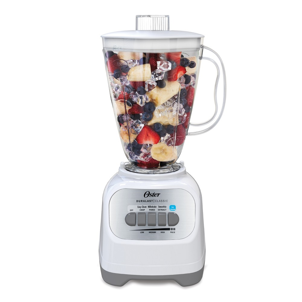 Oster Classic Series 5-Speed Blender – White Blstcp-W00-000 53244769