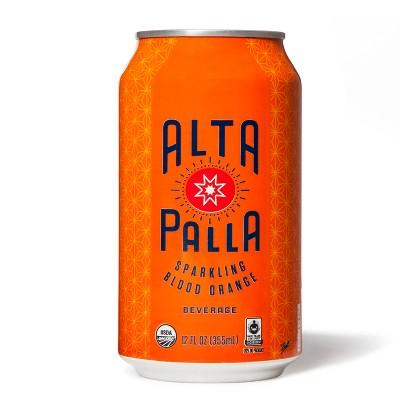 Alta Palla Organic Blood Orange Beverage 16oz