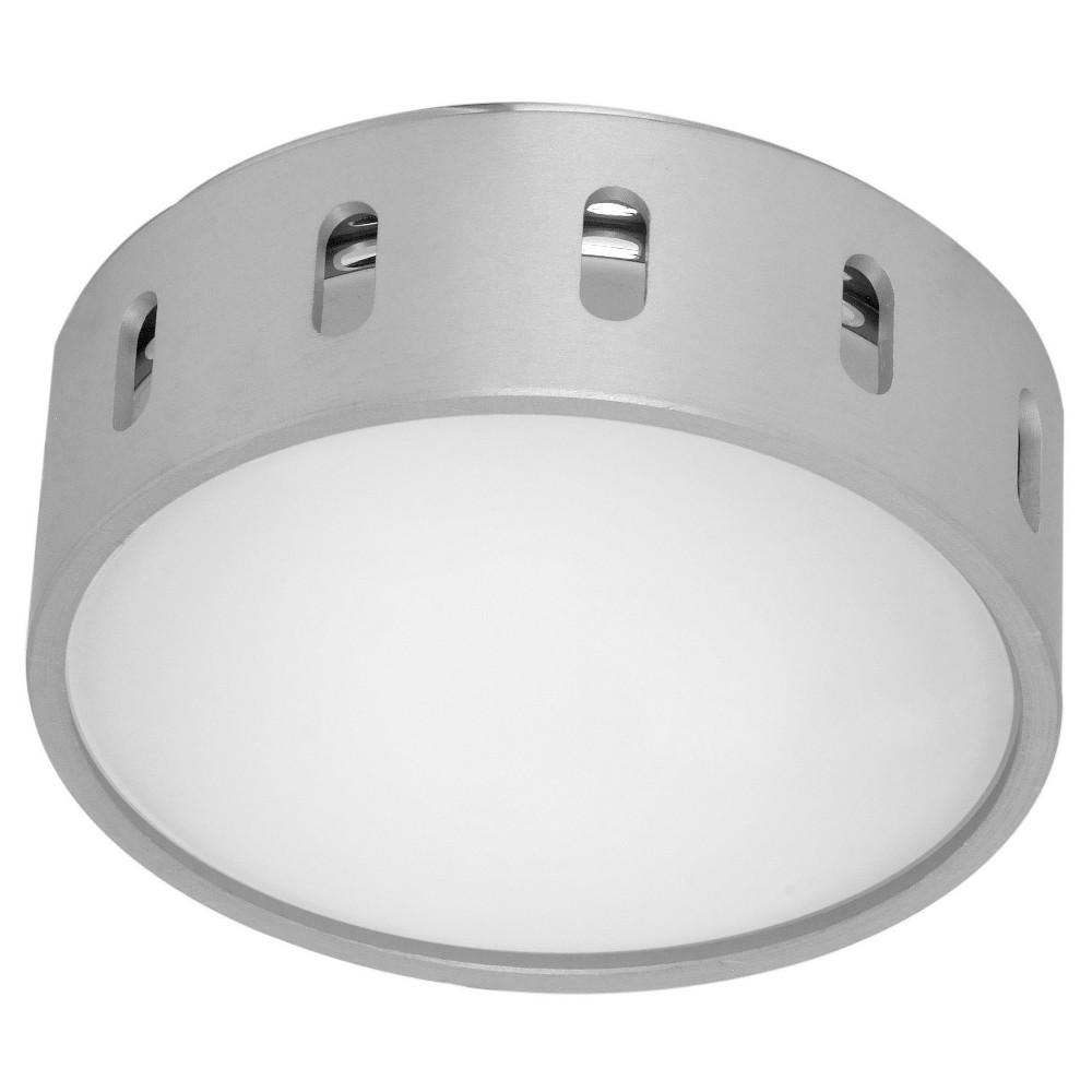 Chiron Wall/Ceiling Light 5.5 Diameter Aluminum (Silver) - Eglo