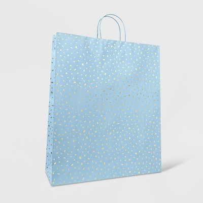 Extra Large Bag with Scattered Foil Gold/Blue - Spritz™