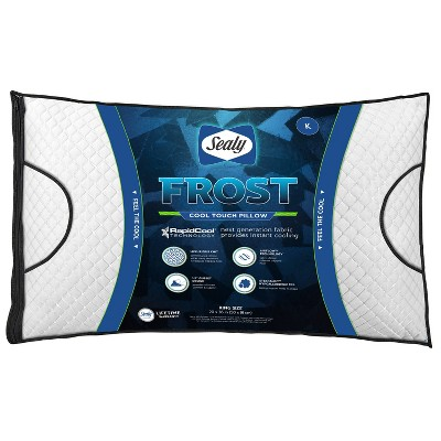 Sealy Jumbo Frost Bed Pillow
