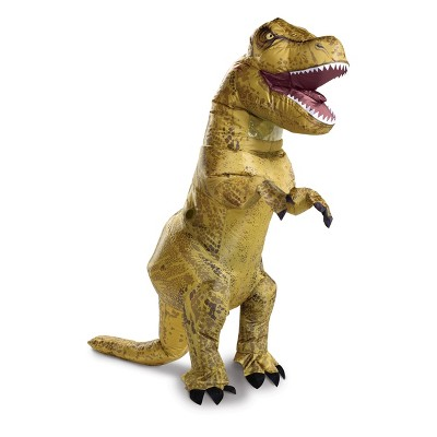 Adult Jurassic World T-Rex Inflatable Halloween Costume One Size