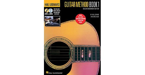 Hal Leonard Guitar Method Book 1 : Deluxe Beginner Edition (Paperback) (Will Schmid & Greg Koch) - image 1 of 1