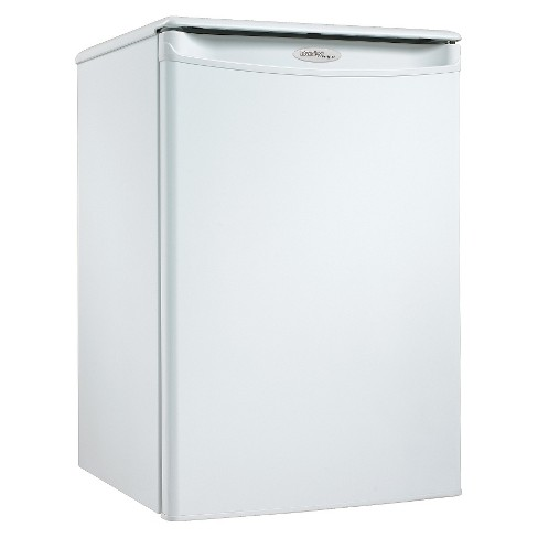 Danby 2.6 Cu.Ft. Designer All Mini Refrigerator - White DAR026A1WD - image 1 of 3
