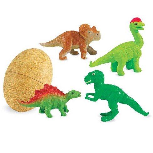 Dino Babies Fossil Textured Eggs With Baby Dinosaurs, Set Of 4 - Hearthsong - image 1 of 2
