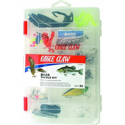 Eagle Claw Bass Fishing Tackle Kit