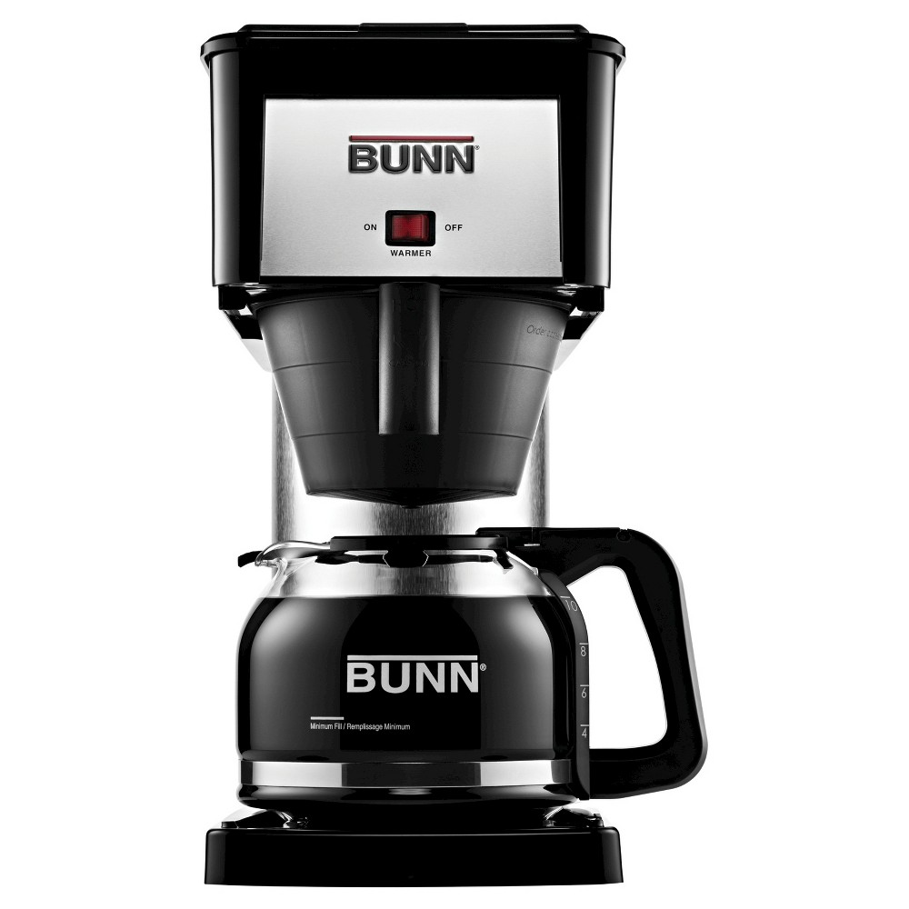 Image of Bunn BX Velocity Brew 10 Cup Coffee Brewer, Black