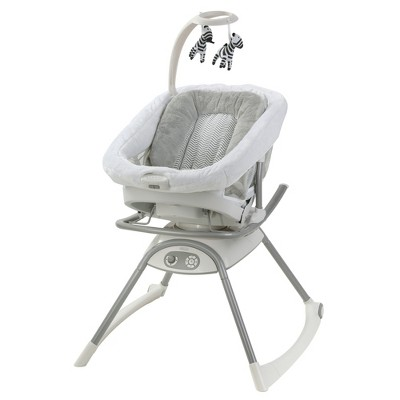 Graco Duet Glide LX Gliding Swing with Portable Sleeper - Zagg