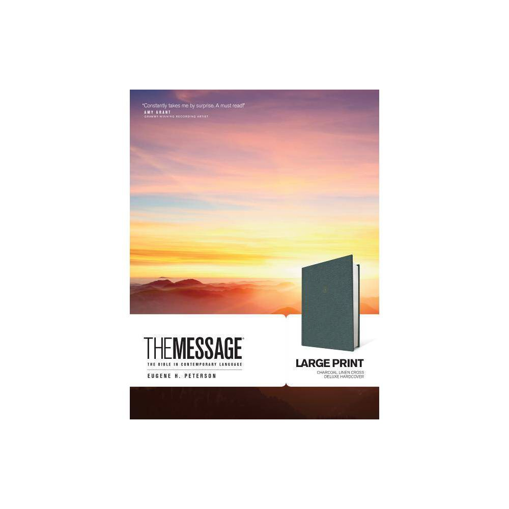 The Message Large Print Hardcover