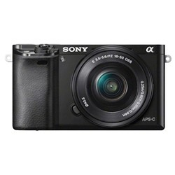 Sony Mirrorless Camera a6000 - Black (ILCE6000L/B)