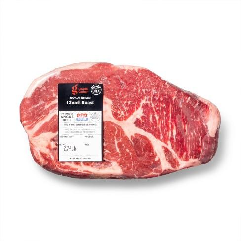 USDA Choice Angus Beef Boneless Chuck Roast - 1-5lbs - priced per lb - Good & Gather™ - image 1 of 2