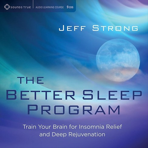 Jeff strong - Better sleep program:Train your brain (CD) - image 1 of 1
