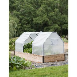 3-Season Plant Protection Tent, 4' x 8' - GARDENER'S SUPPLY CO.