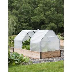 3-Season Plant Protection Tent, 4' x 8' - GARDENER'S SUPPLY CO.
