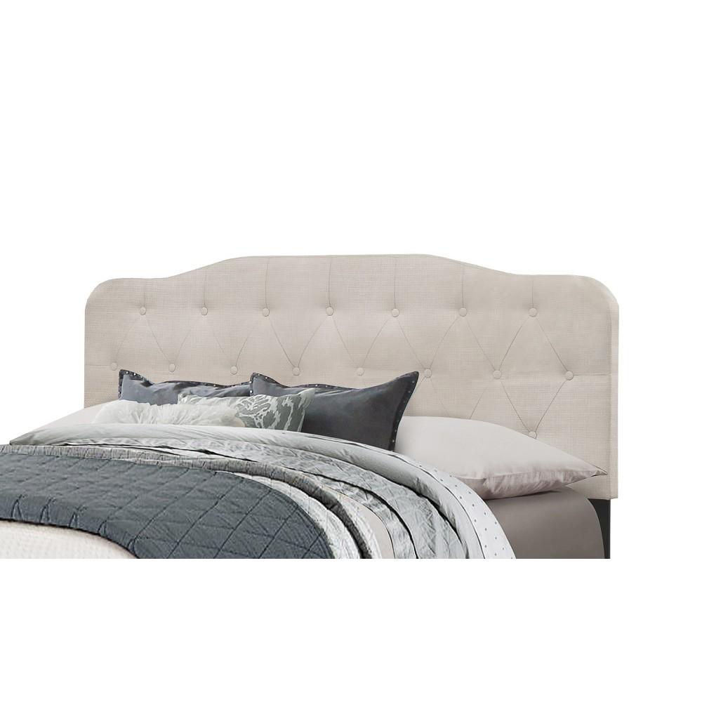 Full/Queen Nicole Headboard Frame Included Fog - Hillsdale Furniture