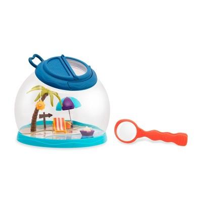 B. toys Bug House & Magnifier Outdoor Toy - B. Tiki Retreat