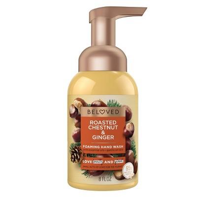 Beloved Roasted Chestnuts & Ginger Foaming Hand Wash - 8 fl oz